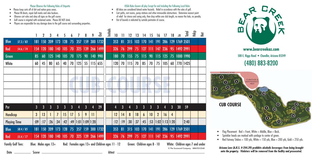 35+ Bear creek golf az ideas in 2021